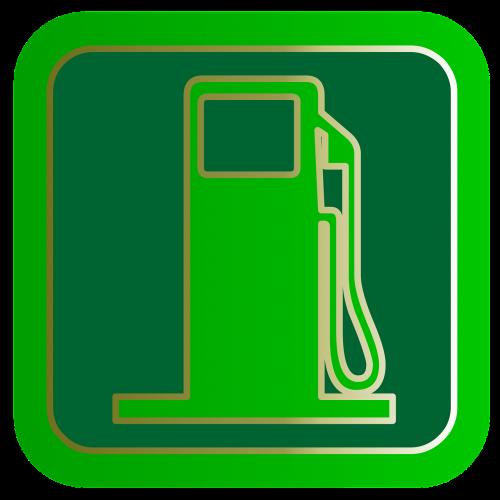 gas button symbol