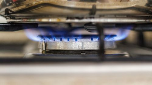 gas gas stove flame
