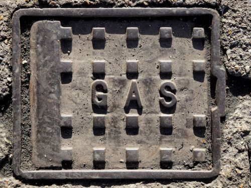 gas metal cover
