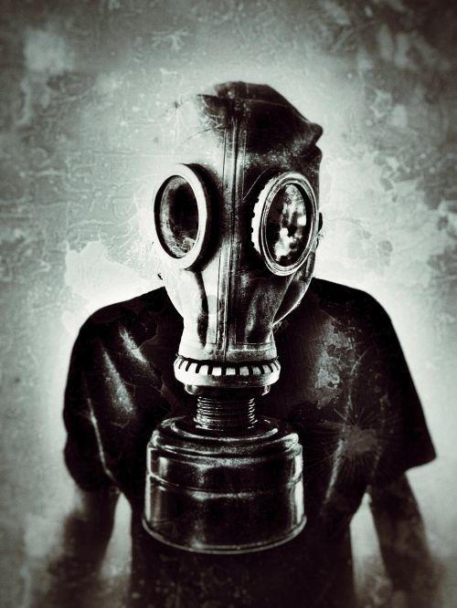 gas mask grunge