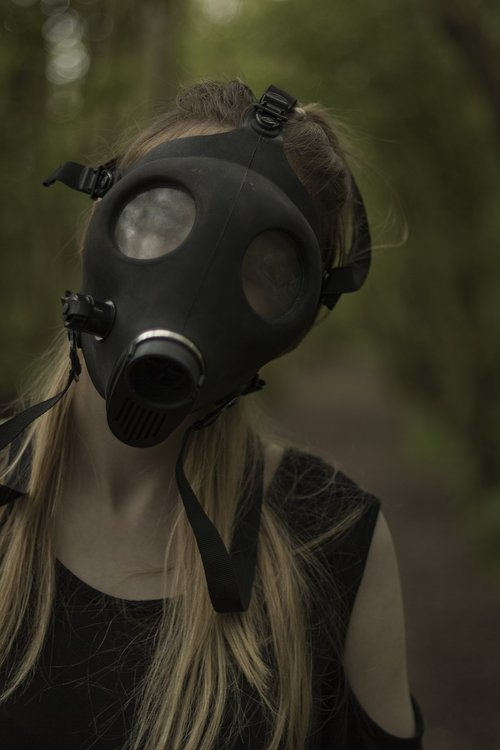 gas  mask  nuclear