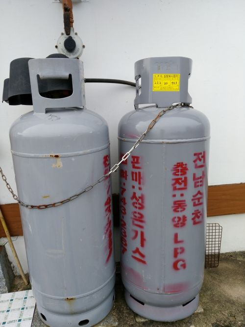 gas cylinder of the countryside pixar bay