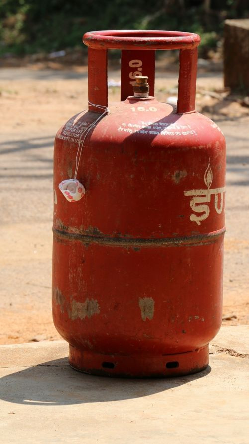 gas cylinder indian hot