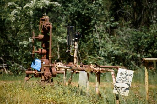 gas line industrial pipe