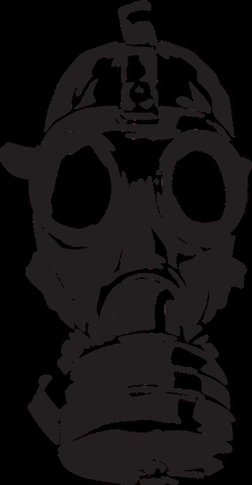 gas mask war old