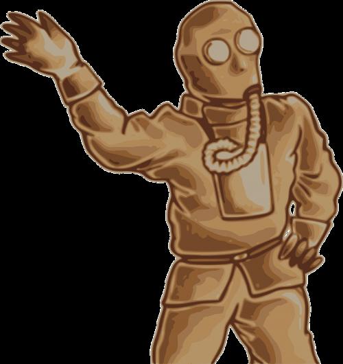 gas mask respirator breather