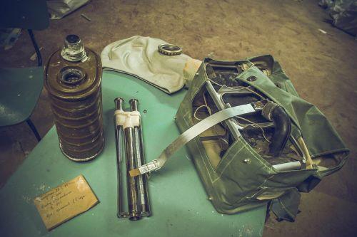 gas mask regenirirûŝij kit