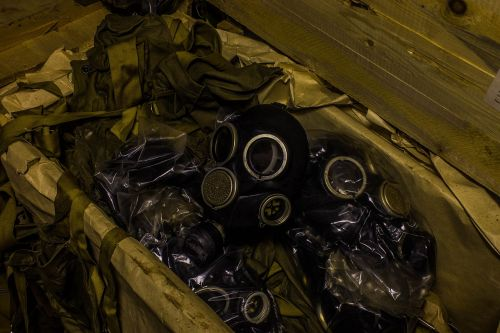 gas mask gp-7 digging