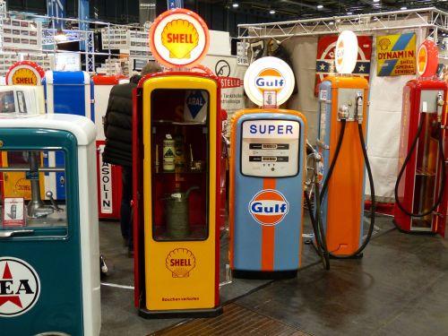 gas pump petrol stations oldtimer