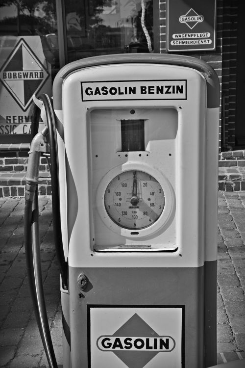 gas pump petrol stations oldtimer