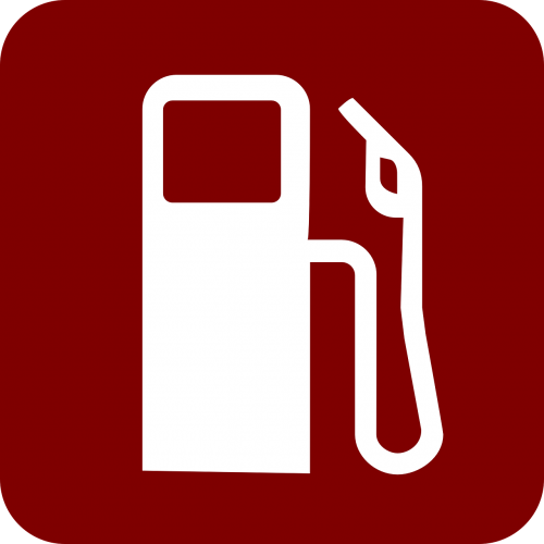 gas pump red fuel