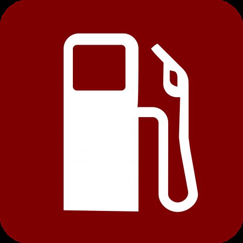 gas pump red fuel