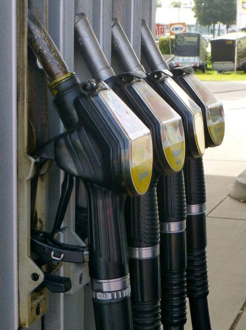 gas pump petrol diesel