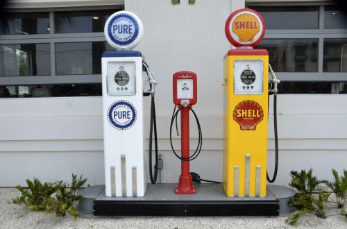 Gas Pump Background