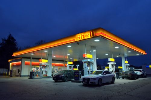 gas station oil industry oil prices