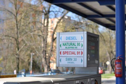 gas station natural gasoline