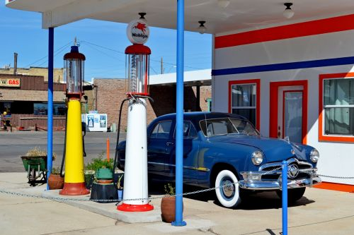 Gas Station, Route 66