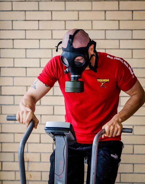 gasmask gas mask training
