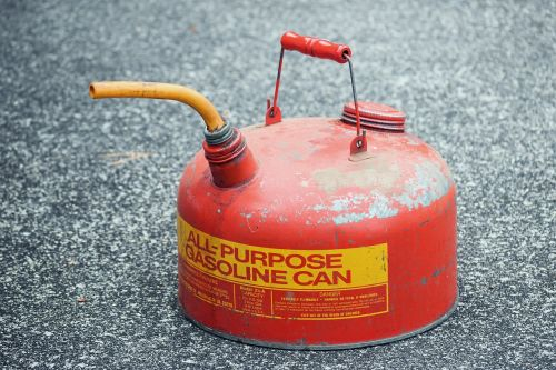 gasoline gas can