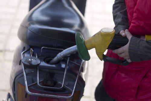 gasoline scooter dressing