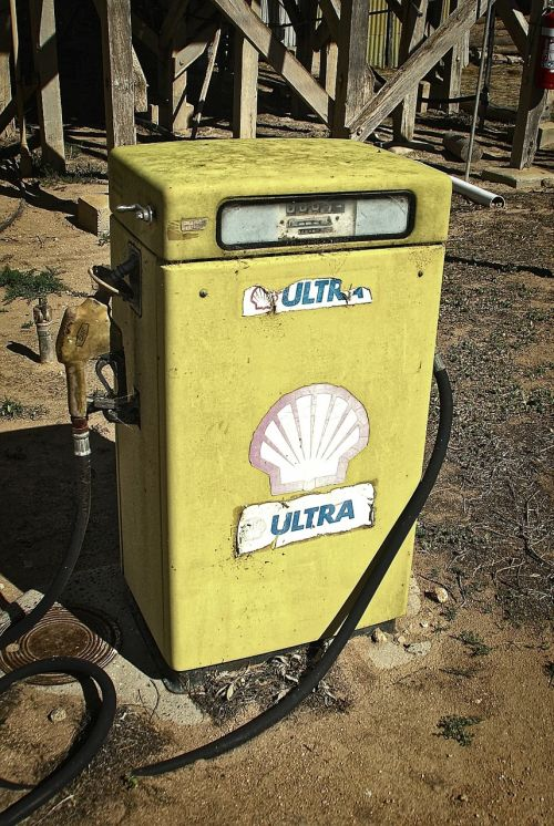 gasoline pump petrol