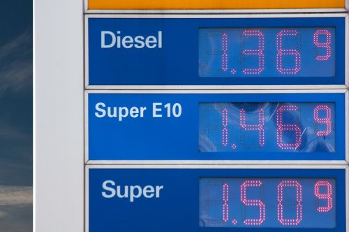 gasoline prices petrol fuel