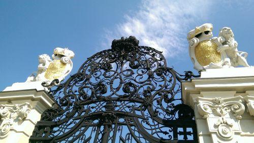 gate castle belvedere