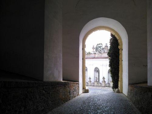 gate the castle's gate mikulov