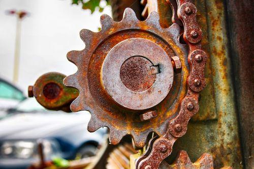 gate iron wheel of authority serrated