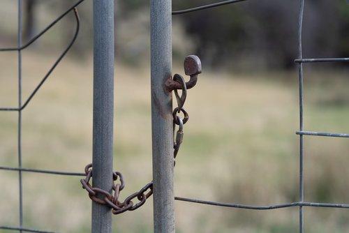 gate  chain  latch