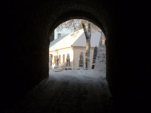 gate castle kuressaare