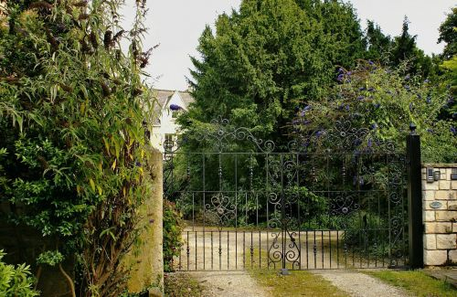 gateway forged gate of metalwork