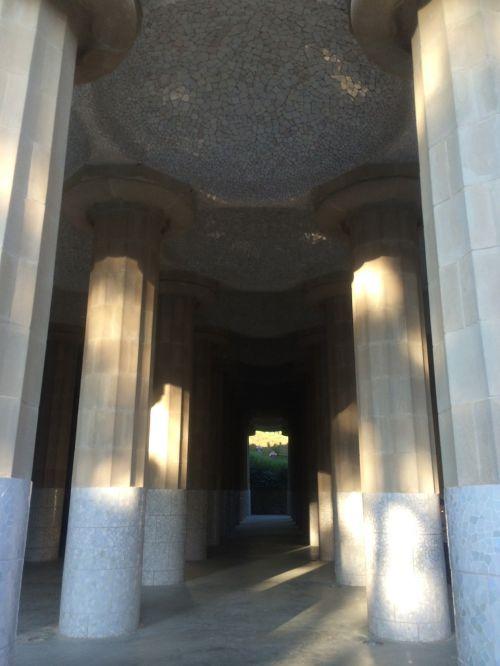 gaudi park barcelona mosaik