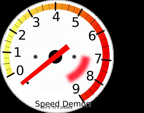 gauge speed velocity