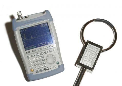 gauge spectrum magnetfeldantene