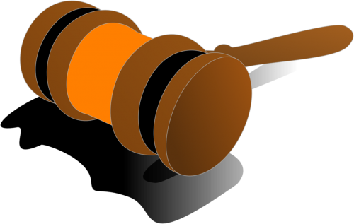 gavel justice wooden