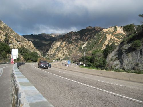 gaviota pass road tunnel