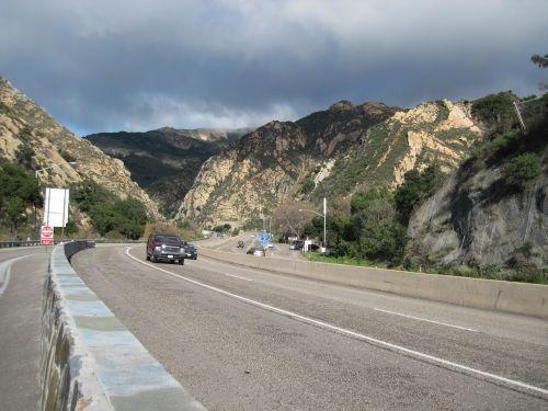 gaviota pass road tunnel