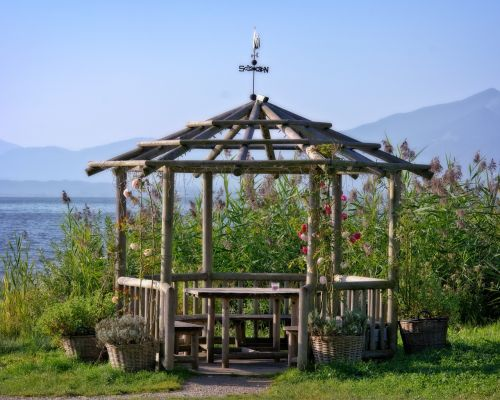 gazebo bower garden pavilion