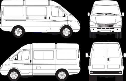 gazelle passenger russian bus minibus