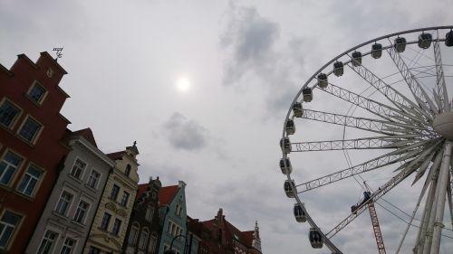 gdanks poland wheel