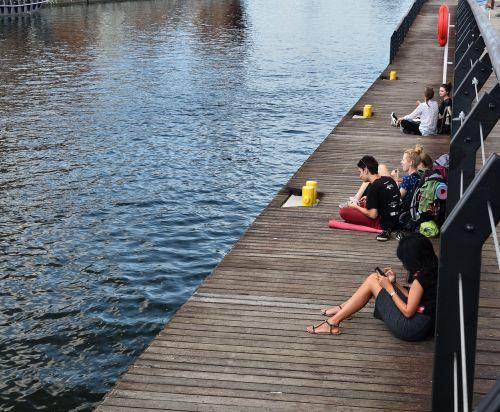 gdańsk long seashore tourists