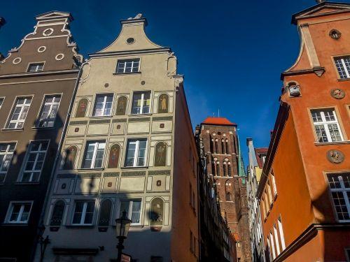 gdańsk long market townhouses