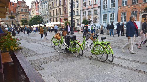 gdansk bikes bicycle