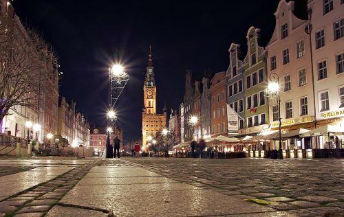 gdańsk long market street