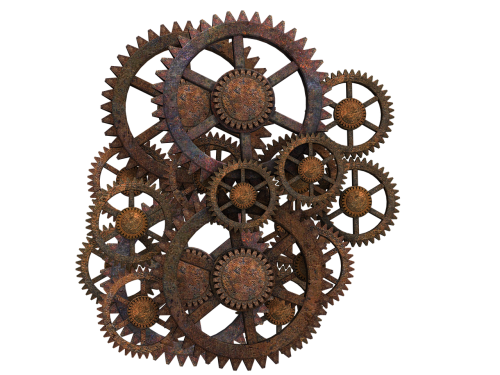gear gear wheels steampunk