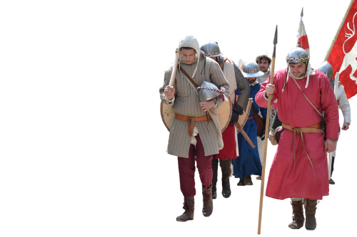 gear middle ages soldiers