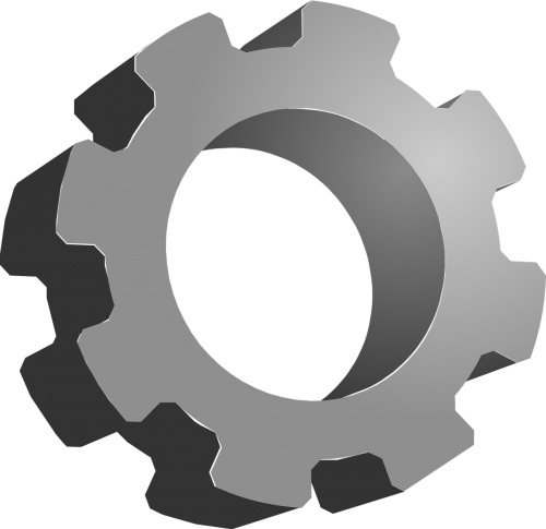 gear icon mechanical