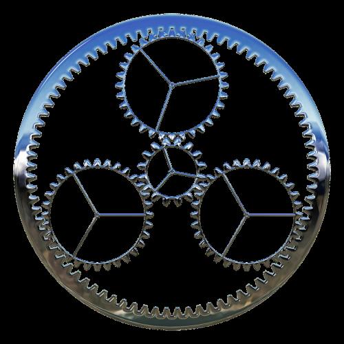 gear process machine