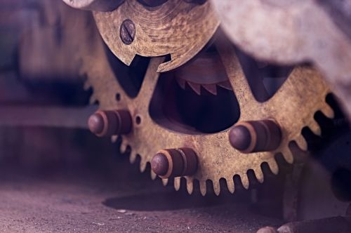 gear machine macro